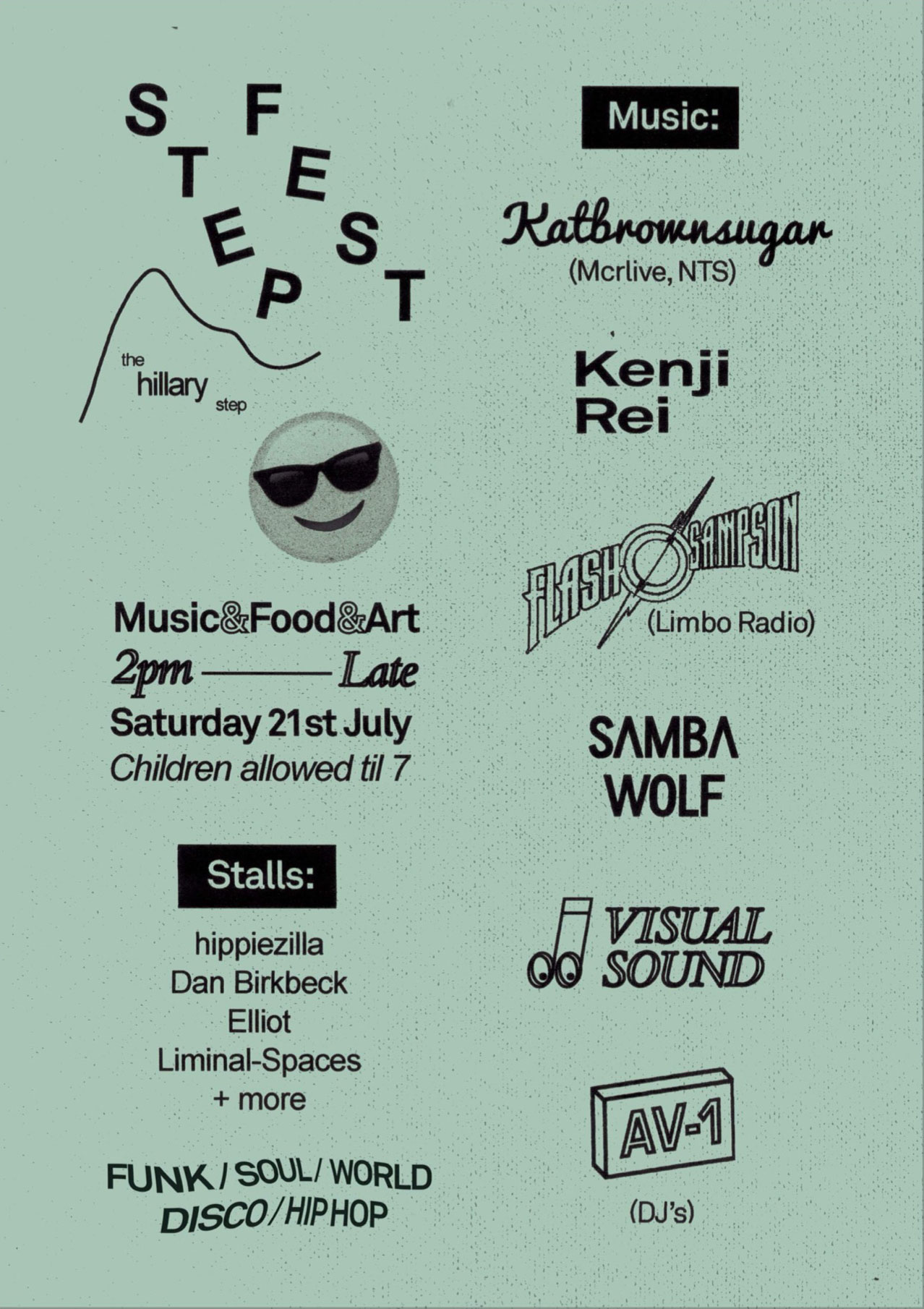 Step Fest Poster