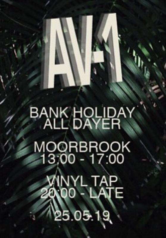 AV-1 Moorbrook Preston Event Poster