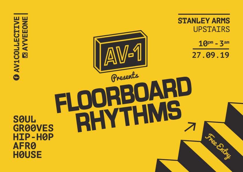 AV-1 Floorboard Rhythms Stanley Arms 27-09-19