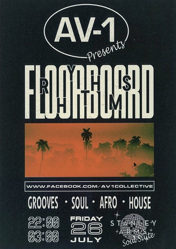 Floorboard Rhythms Preston Music Event Poster